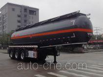 Yongqiang YQ9404GRYY2 flammable liquid tank trailer