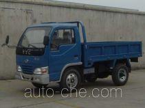 英田牌YT1405D型自卸低速货车