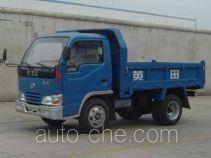 英田牌YT1405D1型自卸低速货车