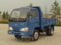 英田牌YT2810D型自卸低速货车