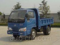 英田牌YT4010D型自卸低速货车