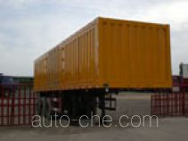 Yugong YT9300XXY box body van trailer