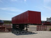 Yugong YT9400XXY box body van trailer