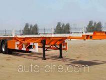 中原冷谷牌YTL9400TJZ型集装箱运输半挂车