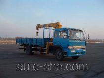 燕台牌YTQ5160JSQ型随车起重运输车