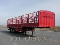 燕台牌YTQ9400CCYE3型仓栅式运输半挂车