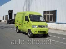 宇通牌YTZ5030XTYBEV型纯电动密闭式桶装垃圾车
