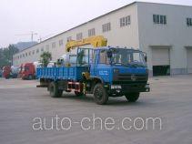 宇通牌YTZ5120JSQ20E型随车起重运输车