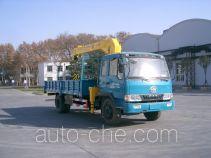 宇通牌YTZ5121JSQ10E型随车起重运输车