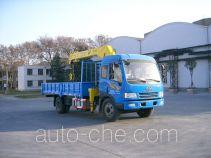 宇通牌YTZ5121JSQ11E型随车起重运输车