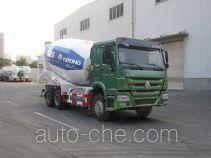宇通牌YTZ5257GJB40G型混凝土搅拌运输车