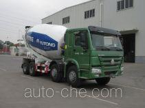 宇通牌YTZ5317GJB40F型混凝土搅拌运输车