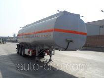 宇通牌YTZ9400GRYA02型易燃液体罐式运输半挂车