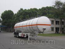 宇通牌YTZ9401GRYD01型易燃液体罐式运输半挂车