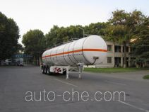 宇通牌YTZ9402GRYH型易燃液体罐式运输半挂车