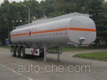 宇通牌YTZ9404GRYA型易燃液体罐式运输半挂车