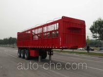 冀贝佳牌YWP9402CCY型仓栅式运输半挂车