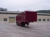 神河牌YXG9282CSY型仓栅式运输半挂车