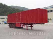 Shenhe YXG9380XXY box body van trailer