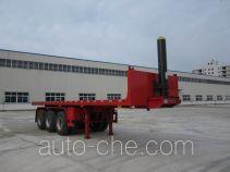 Shenhe YXG9402ZZXP flatbed dump trailer