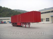 Shenhe YXG9403XXY box body van trailer