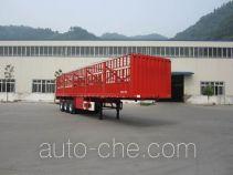 神河牌YXG9400CCYS1型仓栅式运输半挂车