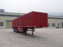 Shenhe YXG9409XXY box body van trailer