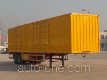Yongchao YXY9350XXY box body van trailer
