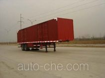 Yangzi YZK9270XXY box body van trailer
