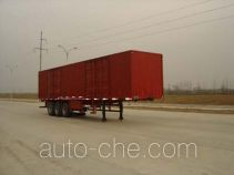 Yangzi YZK9284XXY box body van trailer