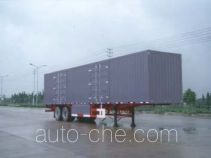 Yangzi YZK9320XXY box body van trailer