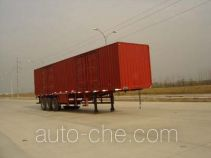 Yangzi YZK9390XXY box body van trailer