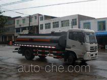 Minjiang YZQ5120GHY3 chemical liquid tank truck