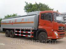 Minjiang YZQ5250GRY4 flammable liquid tank truck