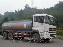 Minjiang YZQ5252GHY3 chemical liquid tank truck