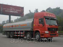 Minjiang YZQ5317GYY3 oil tank truck