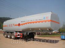 岷江牌YZQ9400GRY型易燃液体罐式运输半挂车