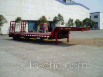 金鸽牌YZT9224TDPA1型低平板专用半挂车