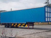 Weichai Senta Jinge YZT9340XXY box body van trailer