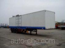 Weichai Senta Jinge YZT9342XXY box body van trailer