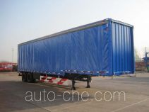 Weichai Senta Jinge box body van trailer