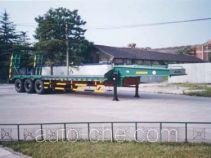 金鸽牌YZT9381TDP型低平板专用半挂车