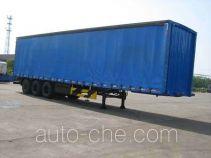 Weichai Senta Jinge YZT9391XXY box body van trailer