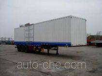 Weichai Senta Jinge YZT9398XXYA box body van trailer