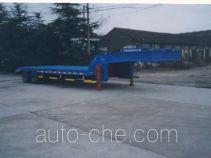金鸽牌YZT9400TDP型低平板专用半挂车