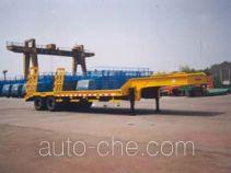金鸽牌YZT9510TDPA1型低平板专用半挂车