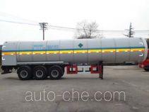 Luzheng ZBR9400GDY cryogenic liquid tank semi-trailer