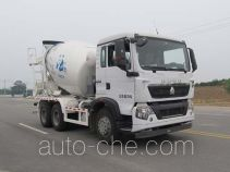 华骏牌ZCZ5250GJBZHF型混凝土搅拌运输车