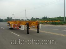 Huajun empty container transport trailer
