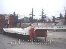 华骏牌ZCZ9230TD型低平板半挂车